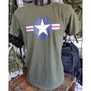 T-SHIRT STAMPA USAF WWII
