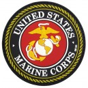 TOPPA 3D GOMMA US MARINE CORPS RED